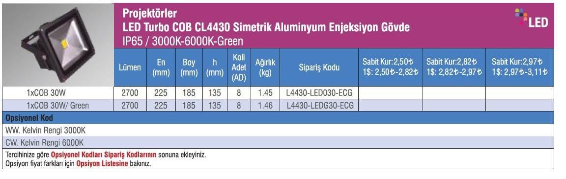 CL4430_urun_bilgisi