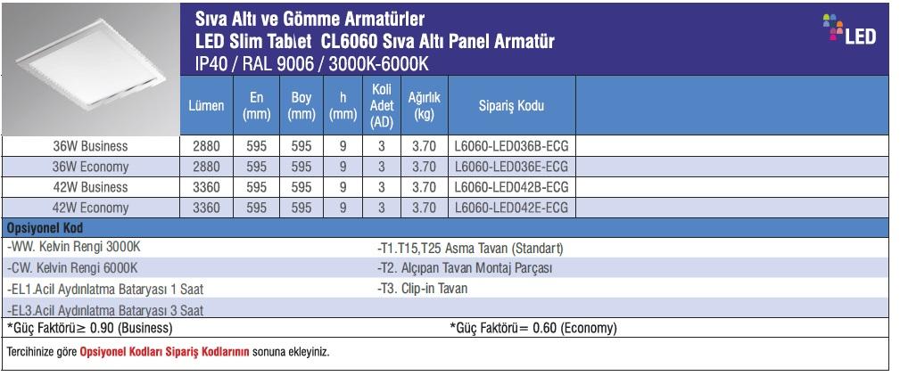 CL6060-urun_bilgisi