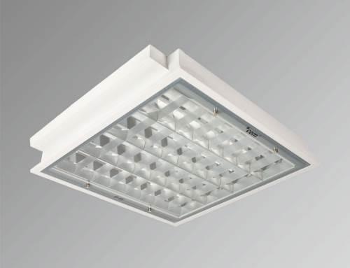 Hygiene C260 T8 IP65 Parabolik Reflektör
